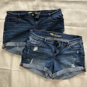 Old Navy: Boyfriend Shorts - SET OF 2